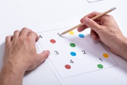 Neuropsychological tests, such as the Trail Making Test, are used in traditional brain health assessment tests to help measure cognitive function.